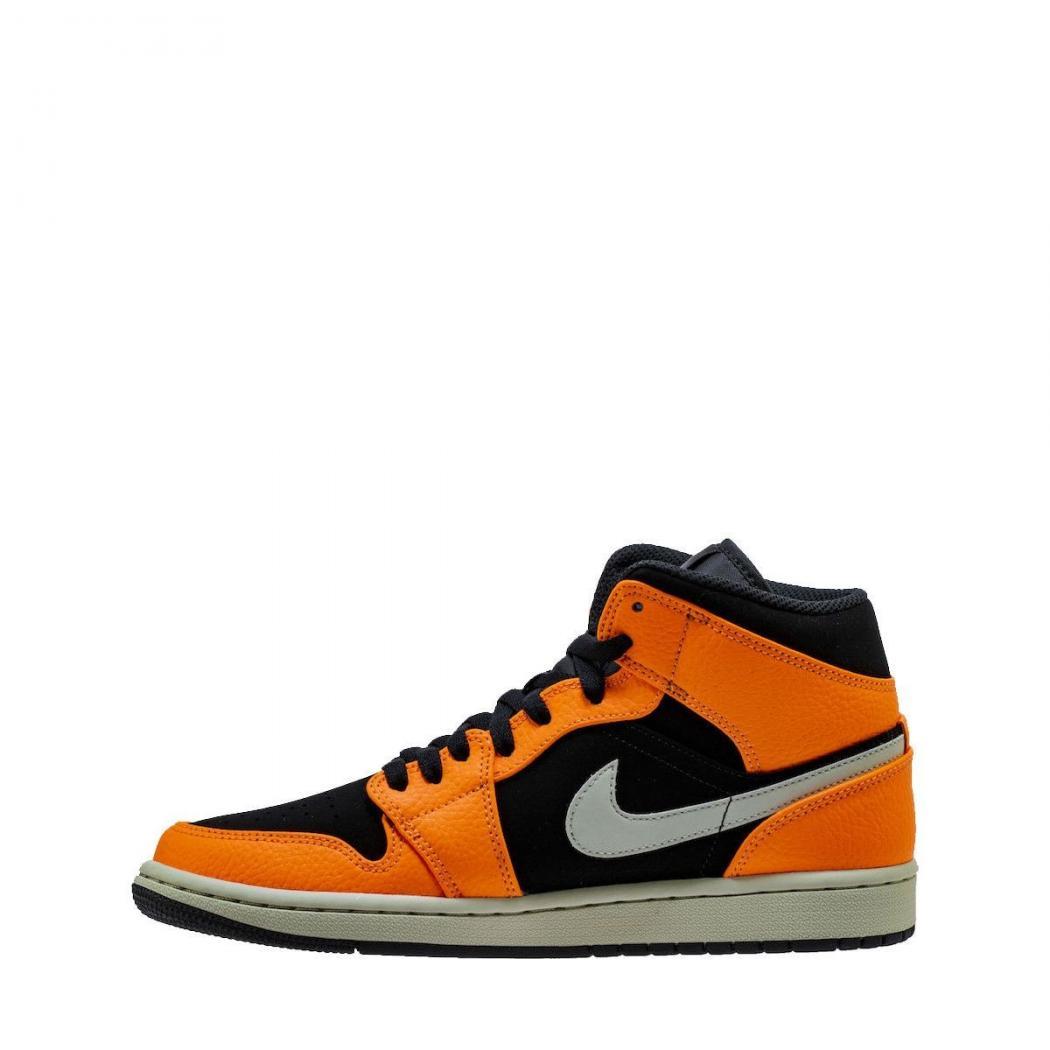Nike Baskets | AIR Jordan 1 Mid Orange - Homme * MBT Designs