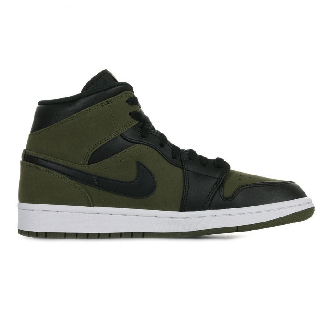 Nike Baskets | AIR JORDAN 1 MID Vert - Homme * MBT Designs