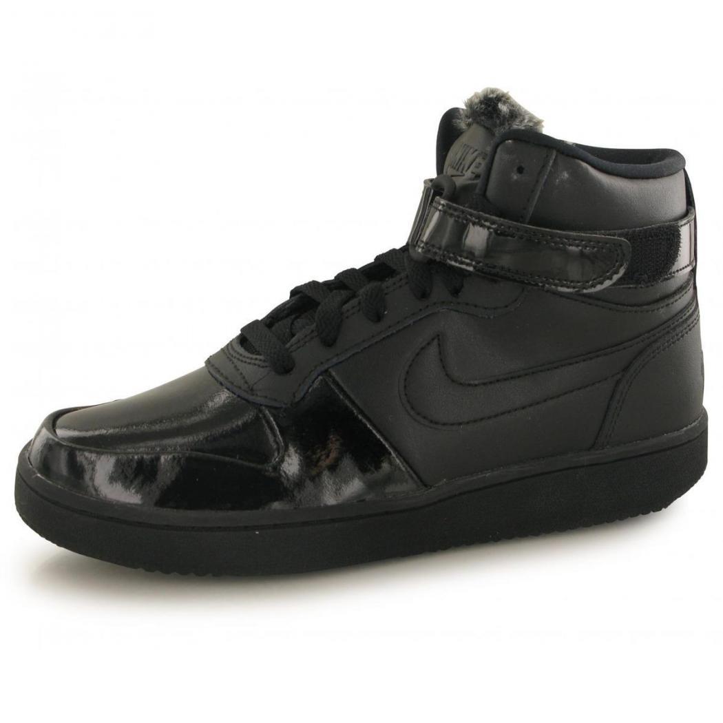 Nike Baskets | Ebernon Mid Premium Noir - Femme * MBT Designs